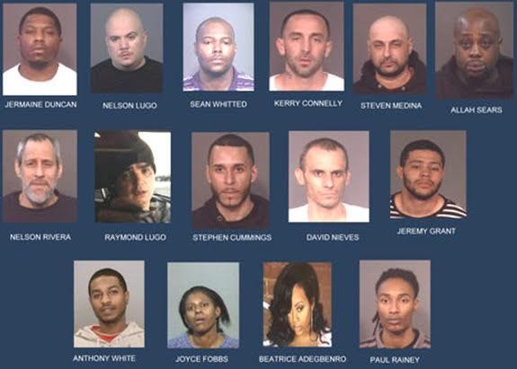 Arrestan 15 personas por drogas en NY; entre ellas varios hispanos
