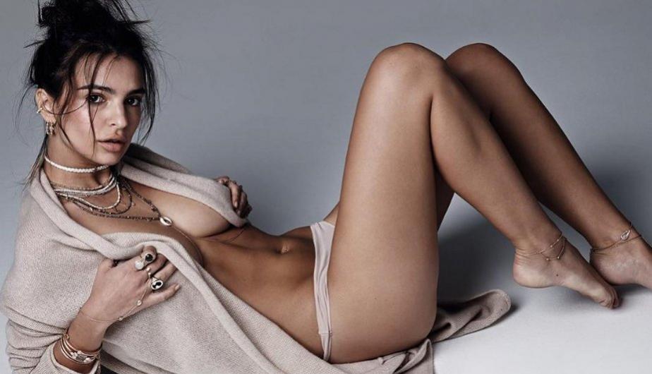 Actriz Emily Ratajkowski denuncia no quieren trabajar con ella por el tamaño de sus pechos