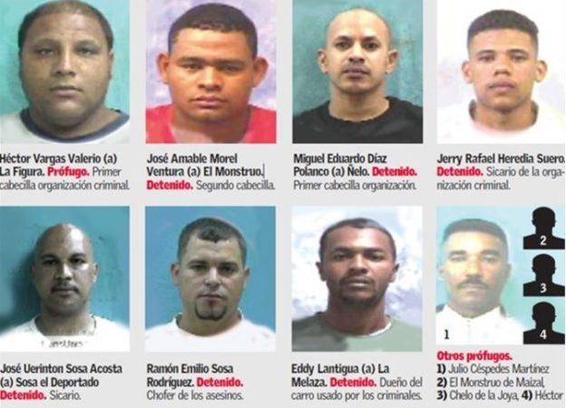 Dicta 30, 20 y 10 años de prisión contra ocho personas mataron seis en Santiago