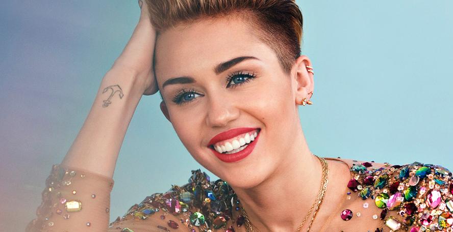 Miley Cyrus iba drogada a la televisión
