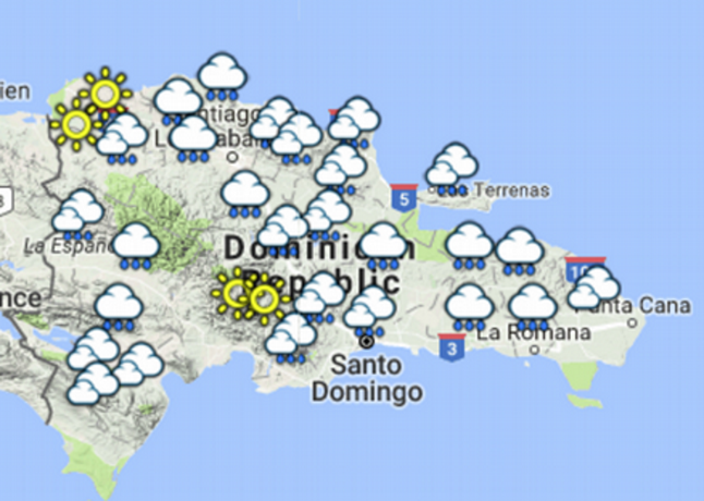 Vaguada y onda tropical provocarán lluvias este fin de semana