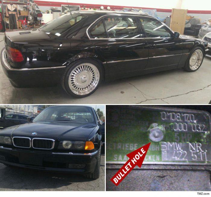 BMW donde fue tiroteado Tupac está a la venta