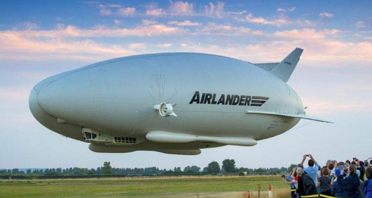 Este impresionante avión es el más grande del mundo y ya está en el aire
