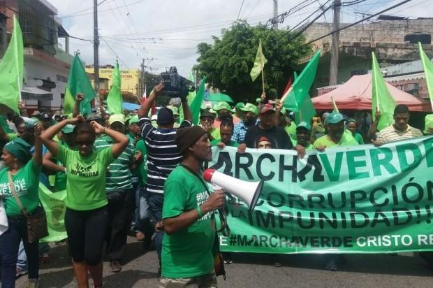 Marcha Verde dice fallo caso Odebrecht responde a intereses del PLD