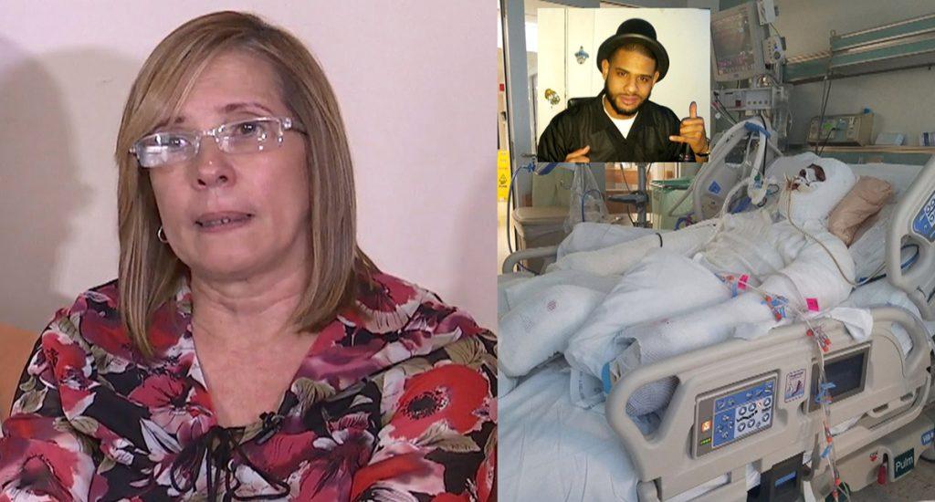 Madre de dominicano golpeado por policías dice familia sufre trauma