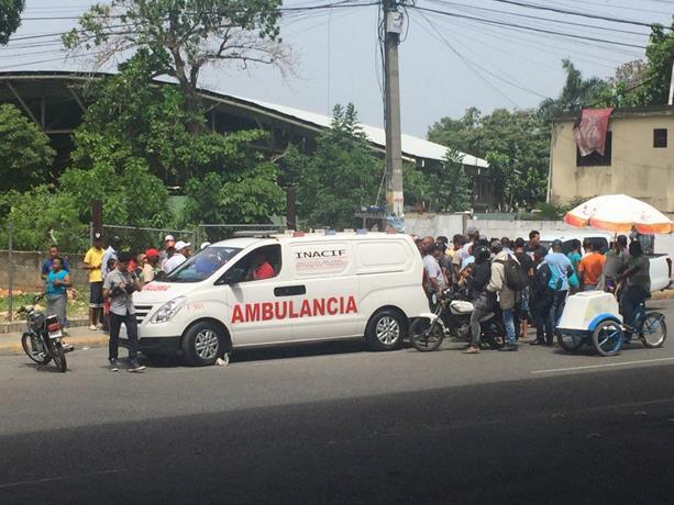 Karina Arias la víctima mortal de accidente en entrada de Los Alcarrizos
