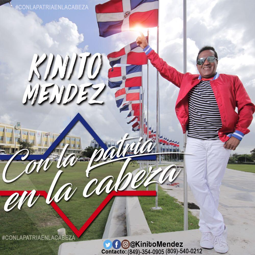 """Kinito Méndez Viene """"Con la Patria en la Cabeza"""""""