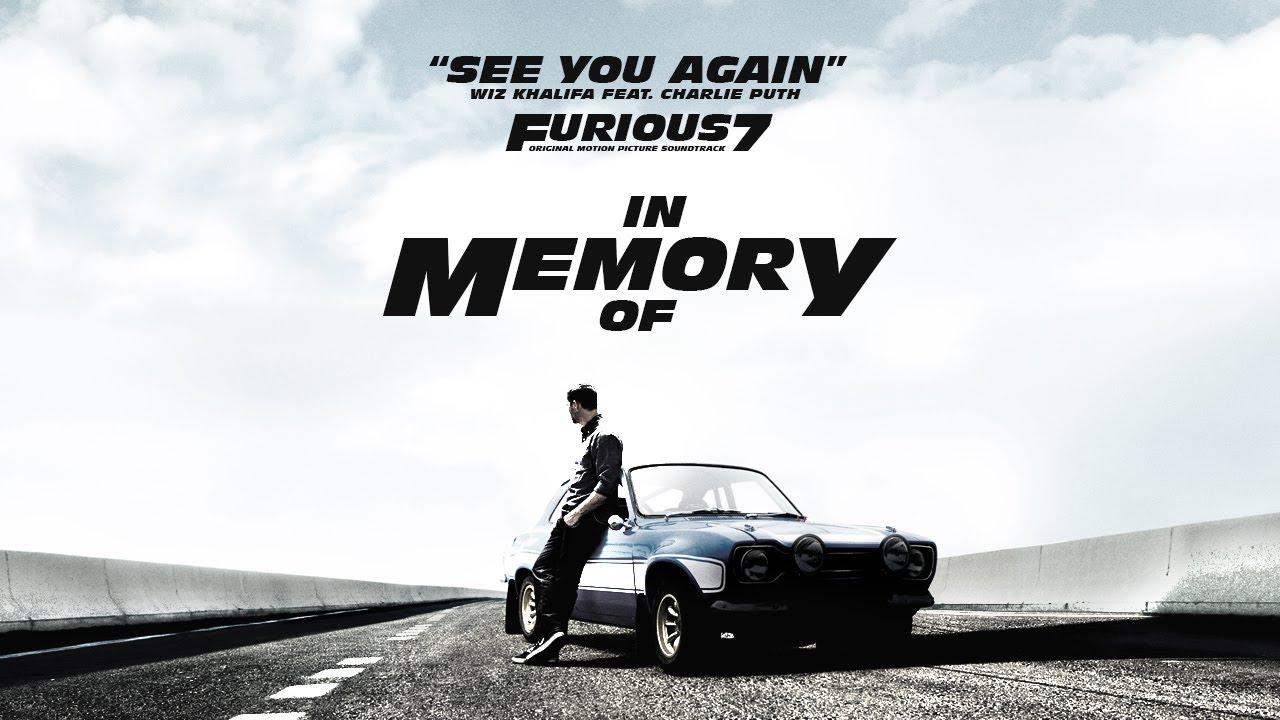 """Gangnam Style pierde el trono de See You Again canción principal de la banda sonora de """"Rápidos y furiosos 7"""