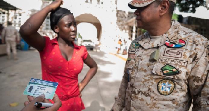 Trafican desde Haití con carnet de regularizados