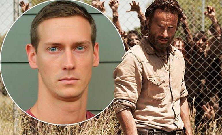 "Doble de ""The Walking Dead"" muere por caída en set"