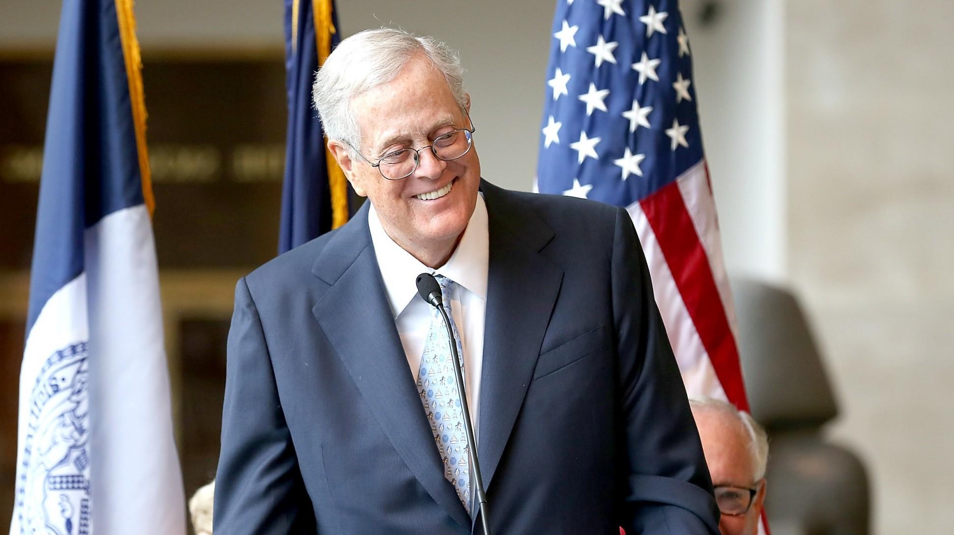 David Koch  N°9  Vicepresidente de Koch Industries de los 35 hombres más ricos del mundo 2017 lista Forbes completa actualizada