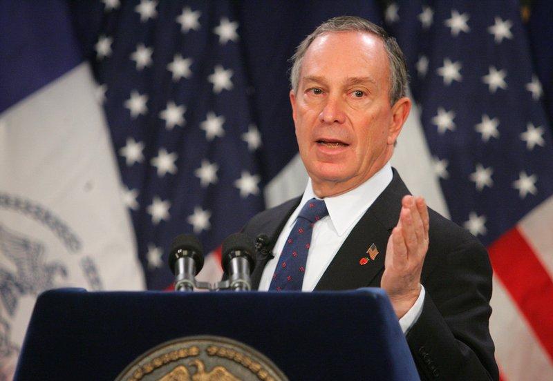 Michael Bloomberg N° 10  dueño de Bloomberg de los 35 hombres más ricos del mundo 2017 lista Forbes completa actualizada