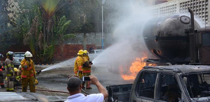 Explosión en envasadora de gas en San Francisco de Macorís