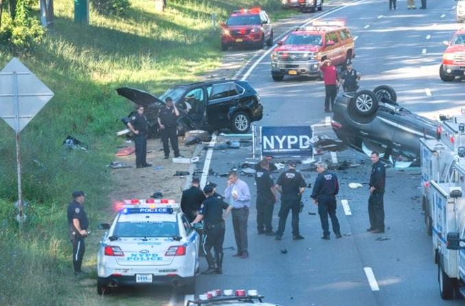 Accidente en NY deja dos muertos y siete heridos; algunos hispanos