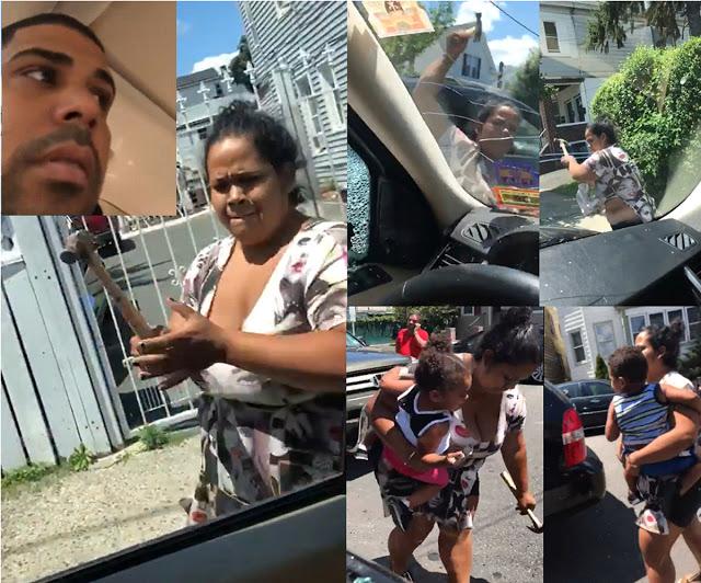 La lista de cargos contra la dominicana que atacó a expareja y los hijos que iban en el vehículo