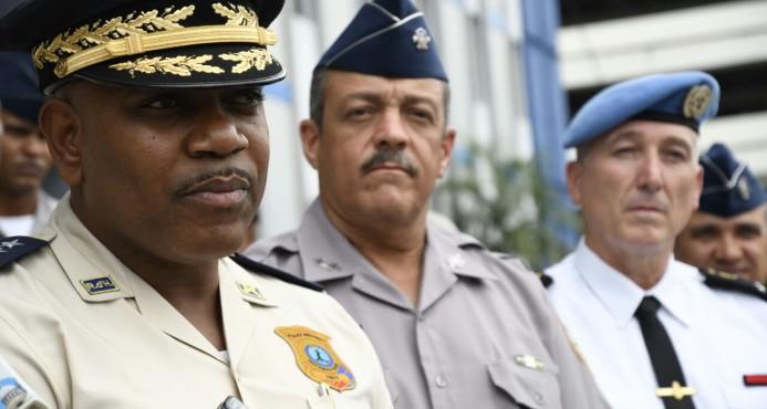 Directores policiales de República Dominicana y Haití buscan reducir criminalidad en ambos países