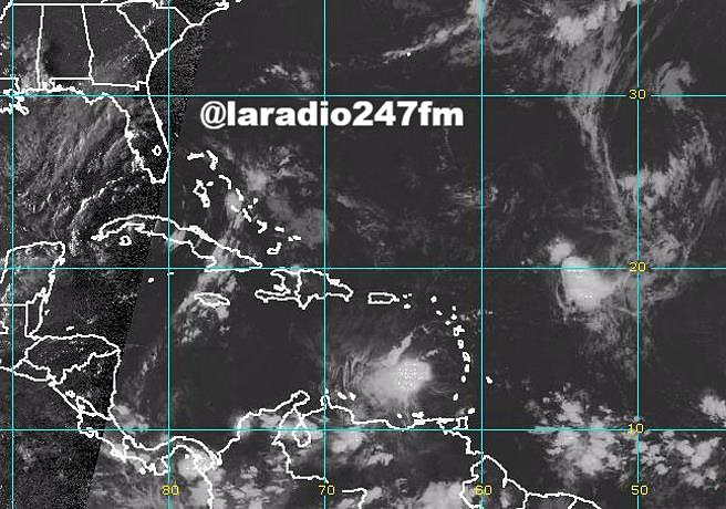 Tormenta Harvey se mueve al sureste