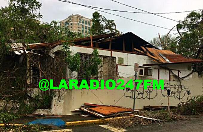 Al menos seis muertos por huracán María en Puerto Rico, entre ellos tres hermanas