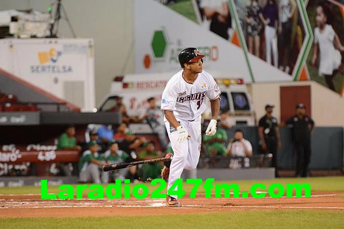 Garabez Rosa jonronea en victoria de Gigantes  ESTADIO JULIÁN JAVIER DERROTAN A LAS ESTRELLAS Y EMPATAN CON ELLAS OTRA VEZ EN PRIMERO
