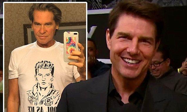 Val Kilmer actuará al lado de Tom Cruise