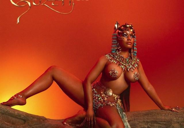 Nicki Minaj se desnuda y transforma en Cleopatra para la portada de su próximo álbum