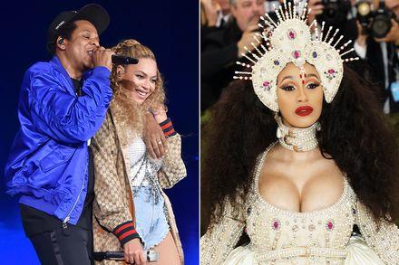 Cardi B y The Carters (Beyoncé y Jay-Z) copan nominaciones a los premios MTV