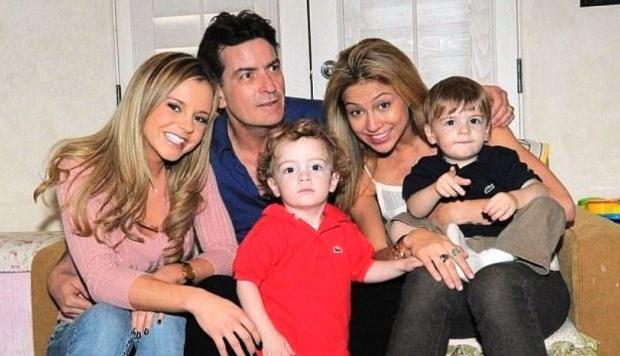 """Charlie Sheen no quiere pagar la manutención de sus hijos porque le quedan """"menos de 10 millones"""""""