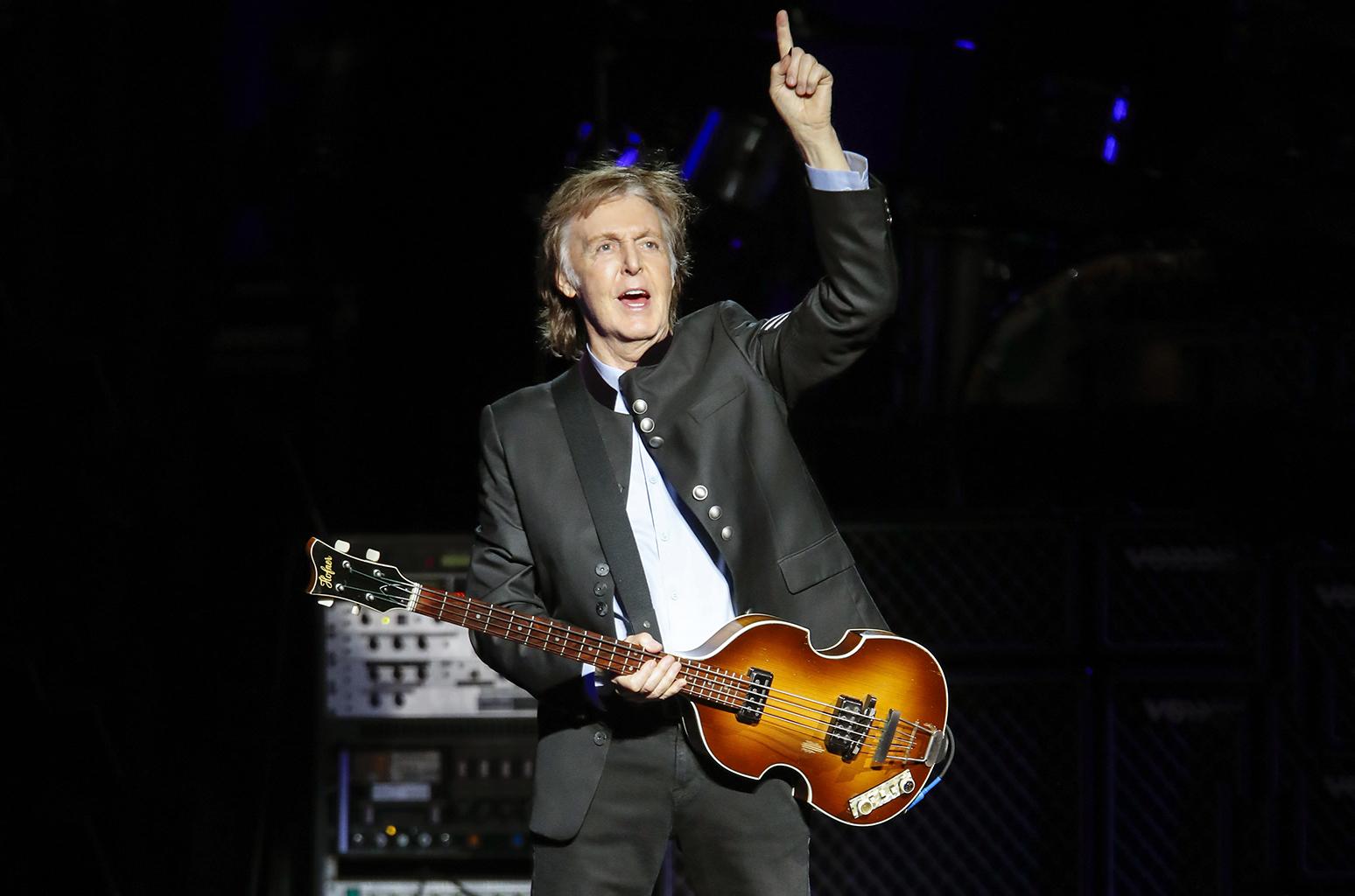 Paul McCartney Componer música da vergüenza