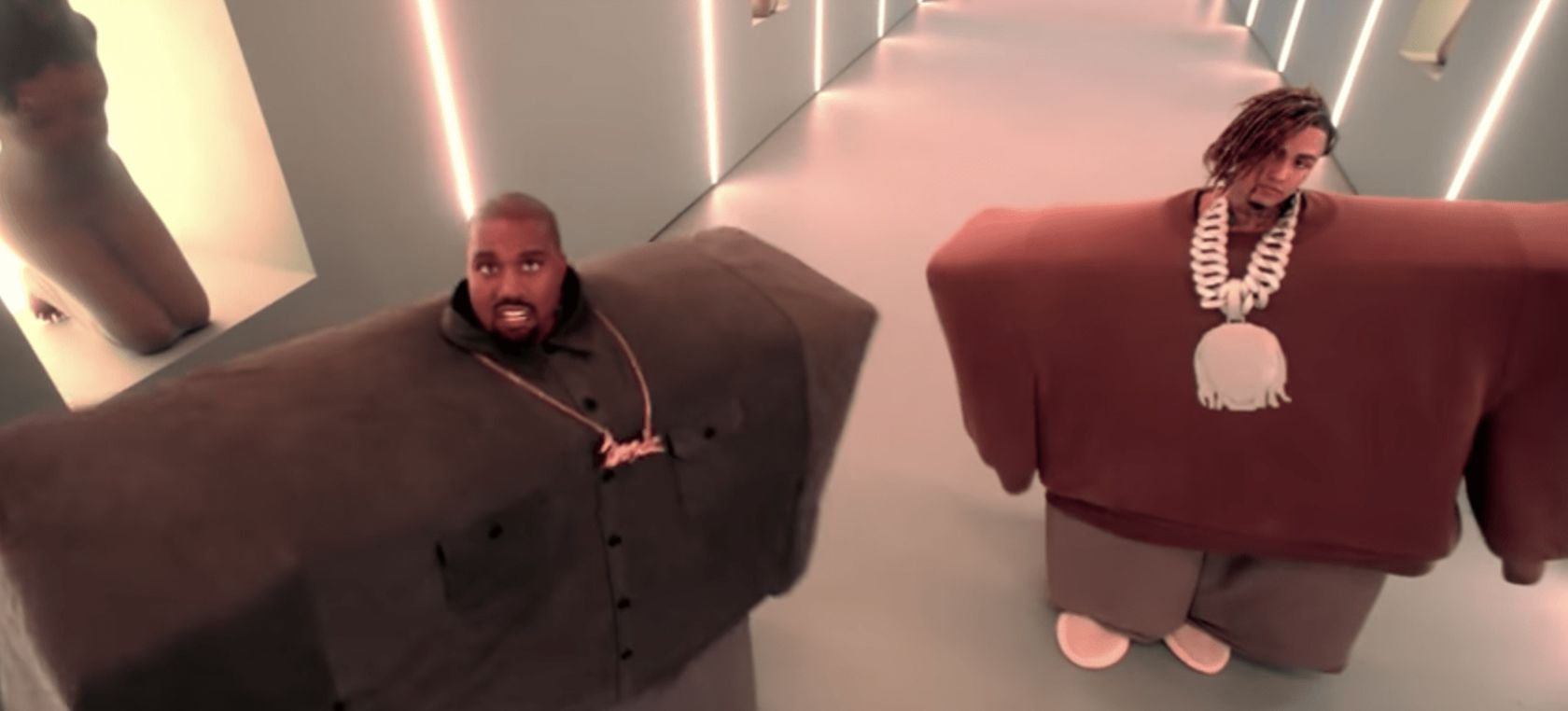 KANYE WEST VUELVE A LOGRARLO CON I LOVE IT Con Lil Pump y Adele Givens