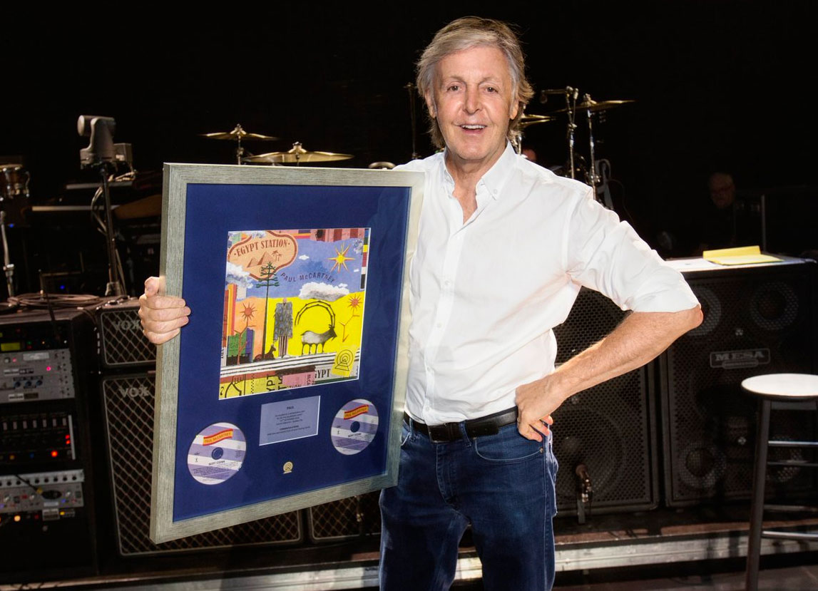 "Paul McCartney vuelve al tope de ventas con ""Egypt Station"""