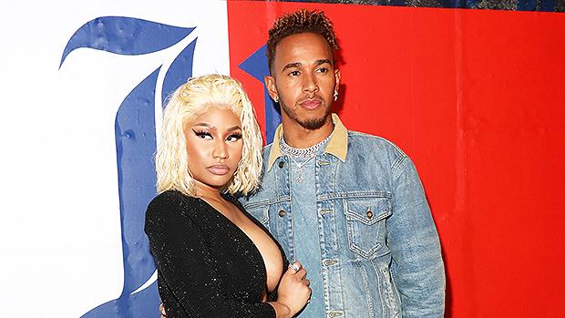 Nicki Minaj y Lewis Hamilton estarían teniendo un romance
