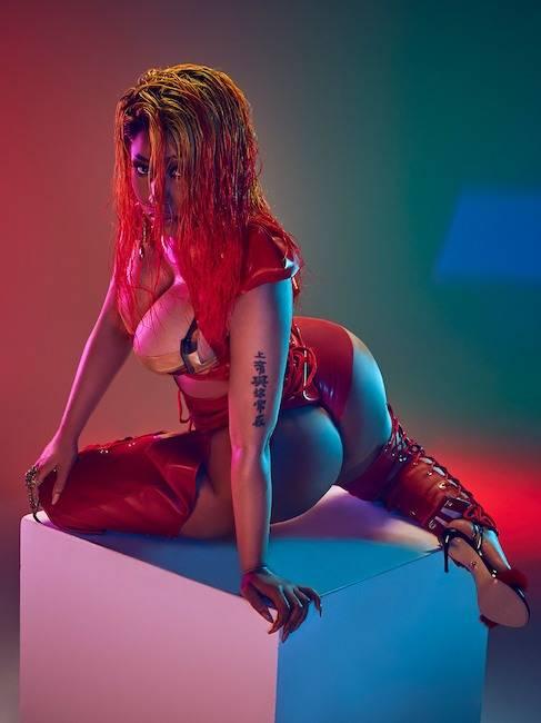 Nicki Minaj encenderá las redes con esta ardiente sesión fotográfica en ropa interior