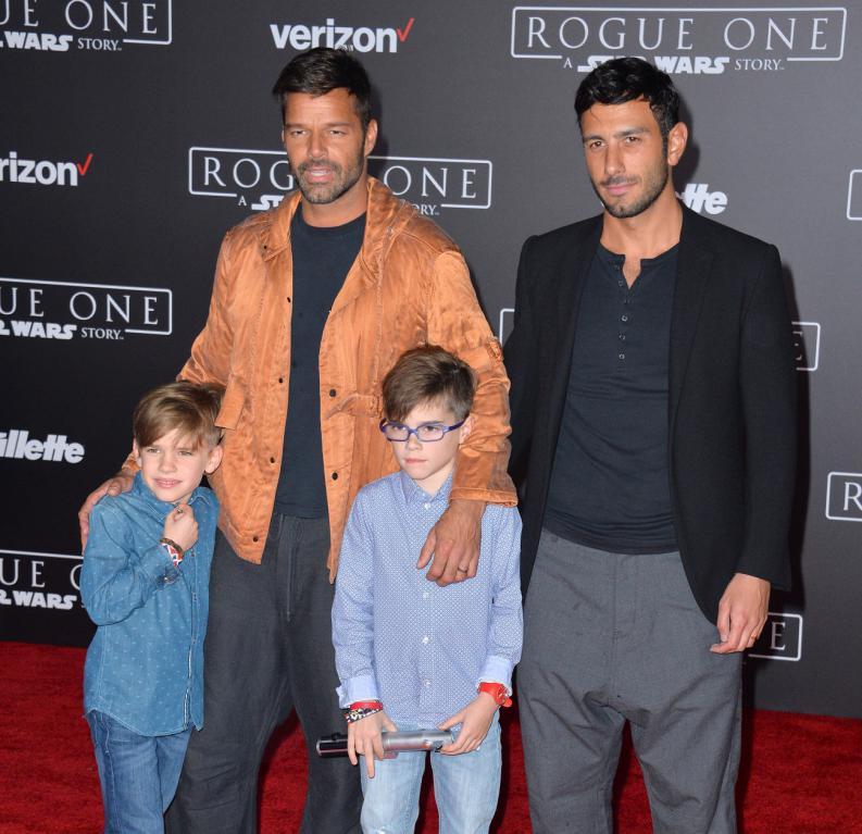 Hijos de Ricky Martin ya son preadolescentes
