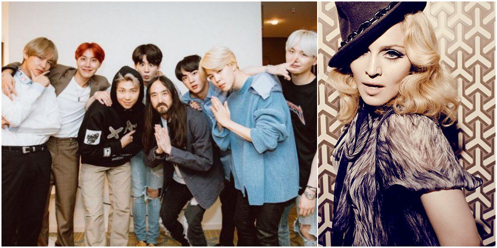 Madonna incluye a Steve Aoki y BTS 'Waste It on Me' en el video de Michael Jackson Tribute