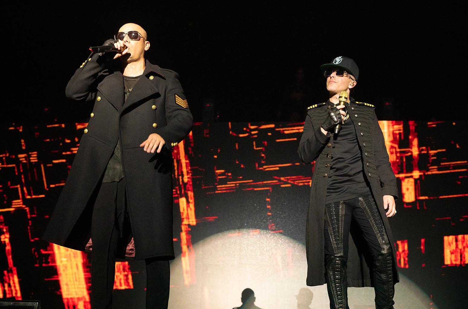Wisin y Yandel con invitados de lujos en el choliceo, Maluma, Ricky Martin, Daddy Yankee y más.