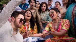 Nick Jonas recién casado con Priyanka Chopra durante el fin de semana