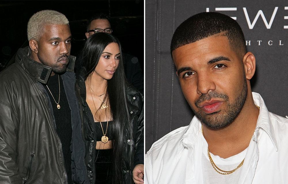 """Kim Kardashian apoya a Kanye West frente a Drake: """"Nunca amenaces a mi marido"""""""