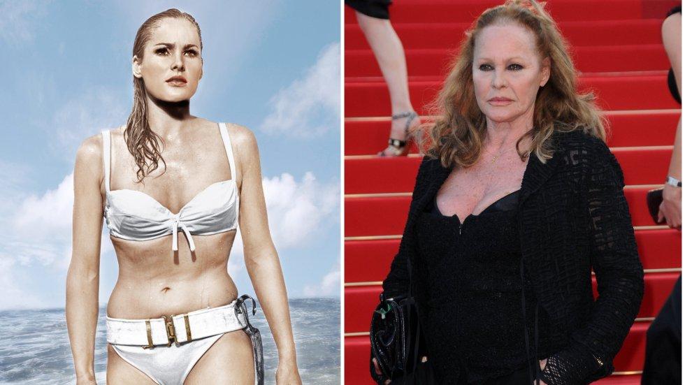 Así han cambiado las 'chicas Bond' a través de los años  Ursula Andress