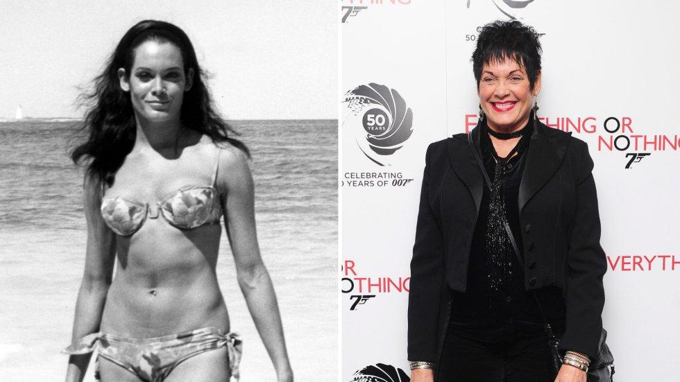 Así han cambiado las 'chicas Bond' a través de los años  Martine Beswick