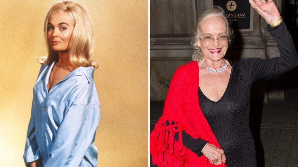 Así han cambiado las 'chicas Bond' a través de los años  Shirley Eaton