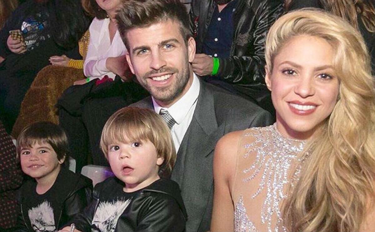 Shakira olvida sus problemas con Hacienda y se va de vacaciones en familia