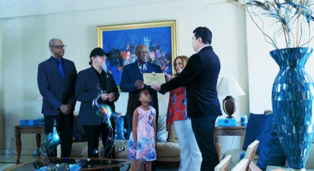 Johnny Ventura, primer dominicano Embajador Cultural del Instituto Latino de la Música
