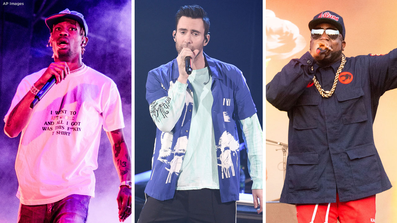 Maroon 5, Travis Scott y Big Boi confirman que actuarán en la Super Bowl pese a la polémica