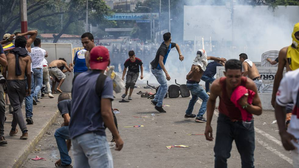 Venezuela graves incidentes en la frontera