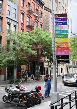 Nueva York cambia la calle Gay por la calle LGBTI durante el Orgullo Mundial