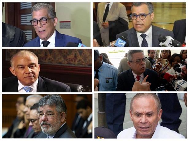 Envían a seis de siete implicados en caso Odebrecht a juicio de fondo