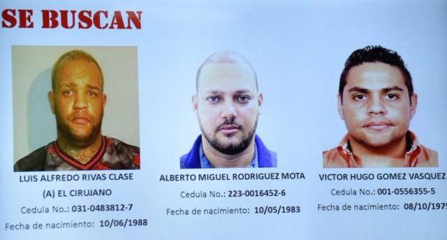 Autoridades aún no dan con paraderos de los prófugos del caso David Ortiz NO FIGURAN EN INTERPOL