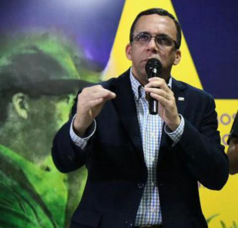Dirigentes del PLD en Capotillo ofrecen respaldo a Navarro