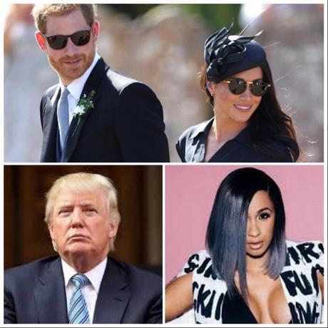 Cardi B, los duques de Sussex y Donald Trump entre las 25 personas más influyentes de internet, según Time