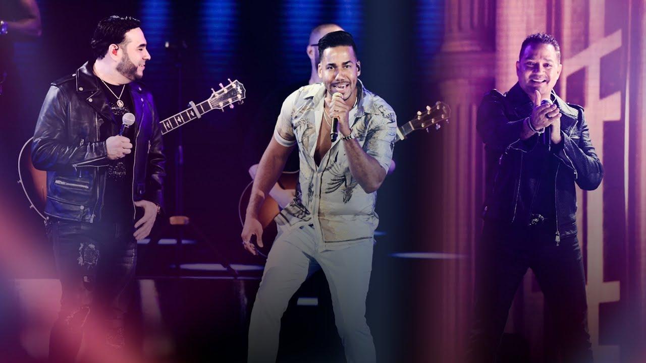 Arriba la bachata Romeo, Frank Reyes y El Chaval se lucen en Premios Juventud